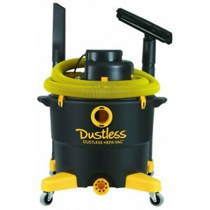 Dustless Hepa Wet dry Vacuum D1606