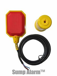 Float Switch W Short 6 Ft Cord Water Tank Sump Pump Septic Applicatins