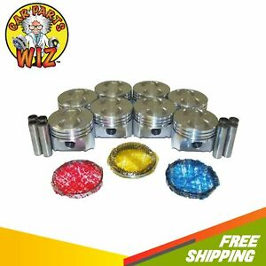 Pistons And Rings Fits 86 96 Ford Bronco 5 0l V8 Ohv Cu 302 Vin D E F M T N Y