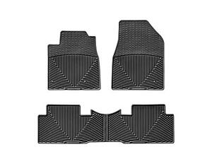 Weathertech All Weather Floor Mats For Honda Pilot 2009 2015 Black