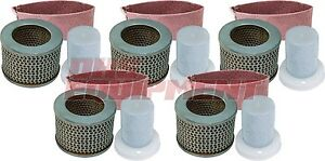 Stihl Ts350 Ts510 Ts760 Non oem Old Style Air Filter Set 5 Pack 4201 140 1801