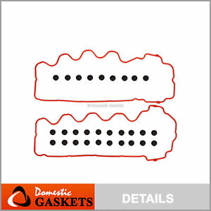 07 14 Ford Expedition Lincoln Mercury 4 6l 5 4l 3v Triton Valve Cover Gasket Set
