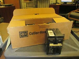 Cutler hammer Br Circuit Breaker Br240 40a 120 240v 2p box Of 5 New Surplus