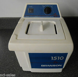 Bransonic Heated Ultrasonic Cleaner 1510r mth 1510 Series