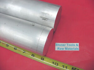 2 Pieces 2 1 4 Aluminum 6061 Round Rod Bar 9 Long Solid Lathe Stock 2 25