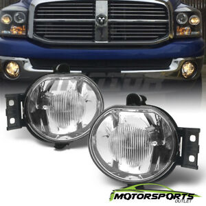 2002 2008 Dodge Ram 1500 2500 3500 2004 2006 Dodge Durango Glass Fog Lights Pair