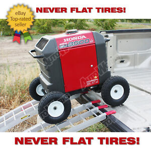 Wheel Kit For Honda Generator Eu3000is Solid Never Flat Tires All Terrain