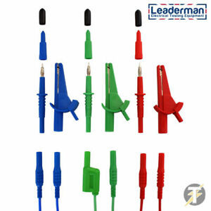 Ldm165 Test Lead Set For Fluke 1651 1652 1653 1654 Multifunction Testers ldmc50