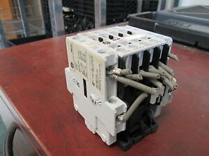 Ge Contactor Rl4ra040t 20a 120v Coil Used