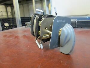 Allen bradley Rotary Switch Yx475633 4 position Used