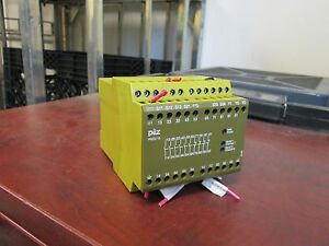 Pilz Safety Relay Pnoz10 120vac 6va 50 60hz Used