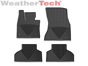 Weathertech All weather Floor Mats For Bmw X5 14 18 X6 14 19 1st 2nd Row Black