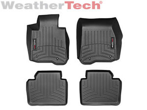 Weathertech Floorliner Bmw 4 series Gran Coupe 2wd 2014 2019 1st 2nd Row Black