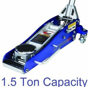 1 5 Ton Low Profile Compact Aluminum Racing Floor Jack Rapid Pump Lift Car Auto