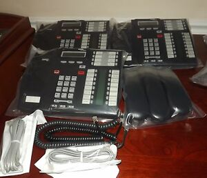 Avaya Nortel norstar T7316e Phone Refurbished W cords Clean Ready To Use
