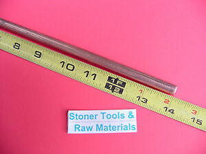 3 8 C110 Copper Round Rod 14 Long H04 Solid 375 Od Cu New Lathe Bar Stock