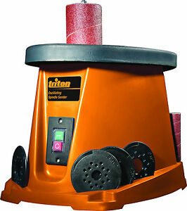 Triton Oscillating Spindle Sander 450w Woodwork Sanding Machine Drum Workshop