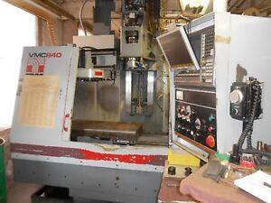 Tree Vmc 840 Dyna Path Machining Center W rigid Tap 8k Rpm Cat 40 Spindle 1994
