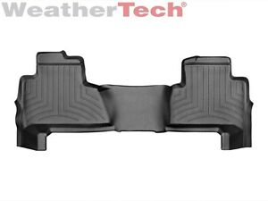 Weathertech Floor Mats Floorliner For Chevy Tahoe gmc Yukon 2nd Row Black