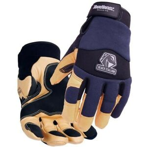 Black Stallion Thinsulate Lined Winter Work Gloves Large
