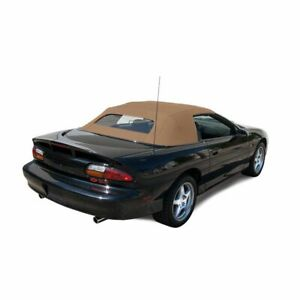 Chevrolet Camaro 1994 02 Convertible Top With Heated Glass Window Tan Stayfast