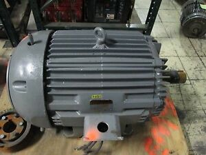 Allis Chalmers Motor Rgz 100hp 405t Frame 1770rpm 460v 113 5a Used
