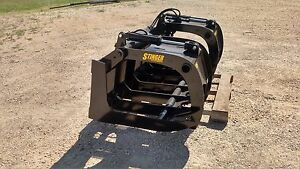 75 Skid Steer Root Rake Grapple High Quality Attachment Free Business Shipping