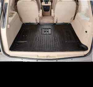 2007 2014 Ford Edge Mkx Rear Cargo Floor Liner Husky Weatherbeater Black New