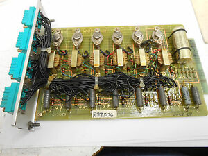 Reliance 0 51879 Pgab Gate Amplifier Module Pcb Circuit Board