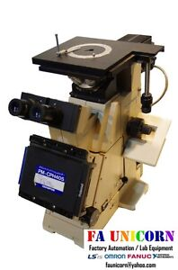 olympus Pme3 Inverted Microscopes Mdplan 4 10 20 50 100x Lens Fast Shipping