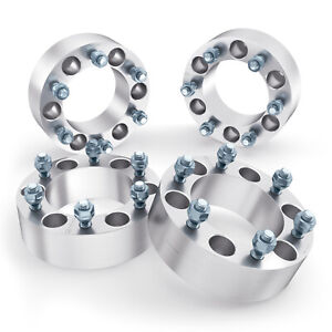 4pc 1 5 6x5 5 Wheel Spacers Adapters 6 Lug 14x1 5 Studs For Chevy Gmc Trucks