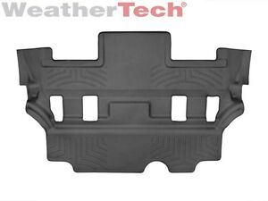 Weathertech Floor Mats Floorliner For Escalade tahoe yukon 3rd Row Black