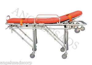 Emergency Medical Stretcher Ambulance Automatic Loading Folding 191 mayday Usa
