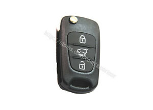 Keyless Entry Folding Remote Transmitter Key For 2012 2013 Kia Sportage 433mhz