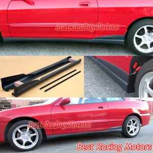 Tr Style Side Skirts Pp Fits 94 01 Acura Integra 2dr