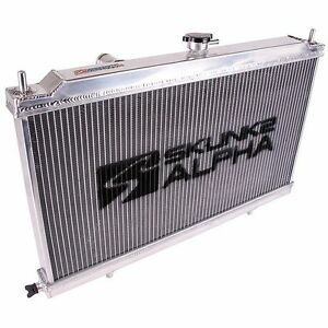 Skunk2 349 05 1500 Alpha Series Aluminum Radiator With Cap 88 91 Civic Crx Ef