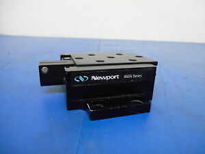 Newport 460a Series Linear Stage 1 2 Movement