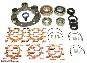 Jeep Ax15 5 Speed Transmission Master Rebuild Bearing Kit Bk163jws Plus More