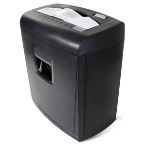 Aurora Au840xa 8 sheet Cross cut Paper Credit Card Shredder W Pullout Basket