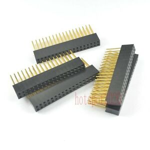 50pcs 2x18pin 36 Pin 2 54mm Stackable Long Legs Female Header For Arduino Shield