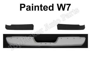 Painted Bright White Rear Bumper Face Bar Pad For 1994 2001 Ram 1500 2500 3500