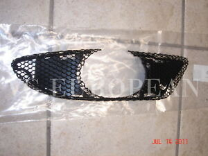 Mercedes W203 C Genuine Amg Front Bumper Cover Right Mesh Grille C230 C240 C320