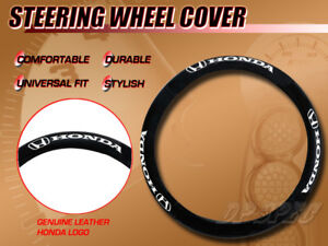 Officially Licensed Honda Genuine Leather 15 Steering Wheel Cover For Accord