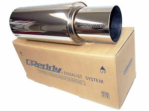 Greddy Revolution Rs Universal Exhaust Muffler 2 5 63mm Inlet 4 103mm Tip