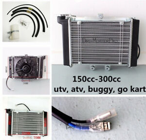 Engine Radiator Thermal Cooling Fan For Atv Quad Bike Buggy 200ccc 30cc Atomik