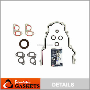 97 16 Chevrolet Cadillac Buick Gmc 4 8l 5 3l 6 0 6 2 Ohv Timing Cover Gasket Set