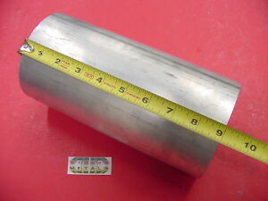 4 1 2 Aluminum 6061 Round Rod 9 Long T6511 4 5 Diameter Solid Lathe Bar Stock