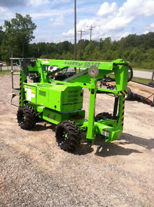 Nifty Sd34 Self Propelled Boom Manlift 40 Work Height diesel