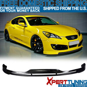 Fit For 10 12 Hyundai Genesis Coupe Type S1 Front Bumper Lip Spoiler
