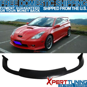 Fit Toyota Celica 2000 2001 2002 Jdm Front Bumper Lip Spoiler Pu Urethane